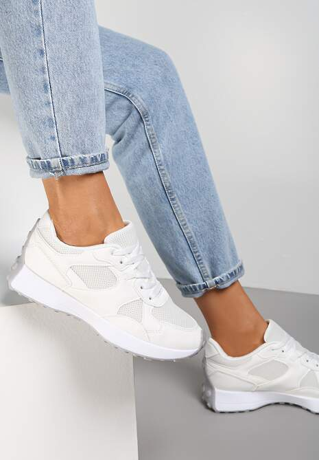 Białe Sneakersy Petirose