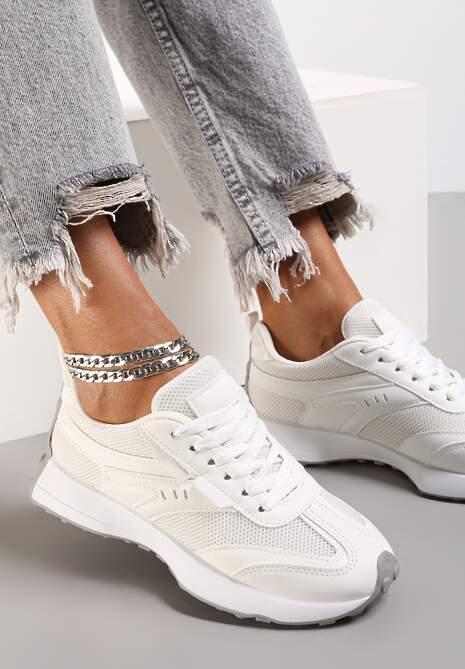 Białe Buty Sportowe Fisendri