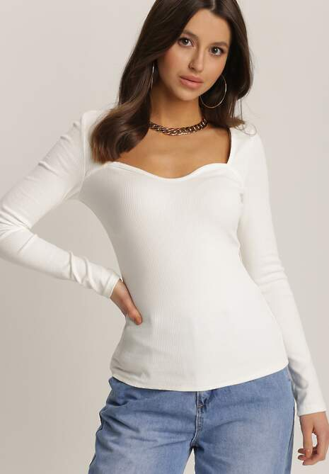 Biała Bluzka Evasiphe