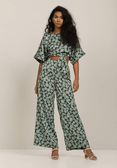 Zielone Spodnie Ziahra