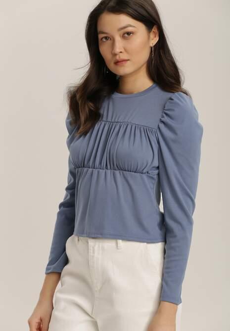 Niebieska Bluzka Daeicea