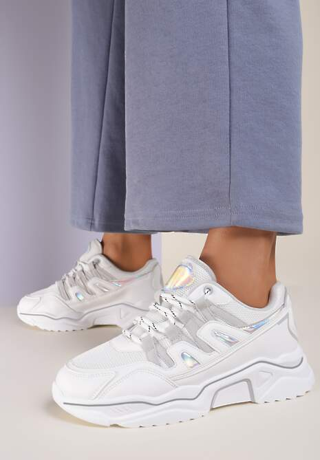 Białe Sneakersy Nemenaera