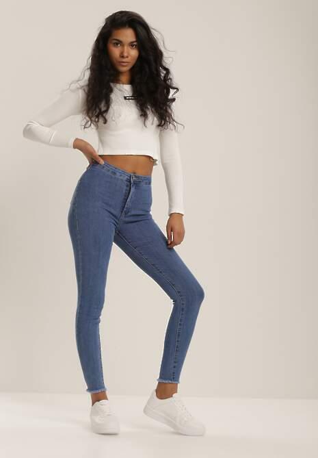 Niebieskie Jeansy Skinny Tintila