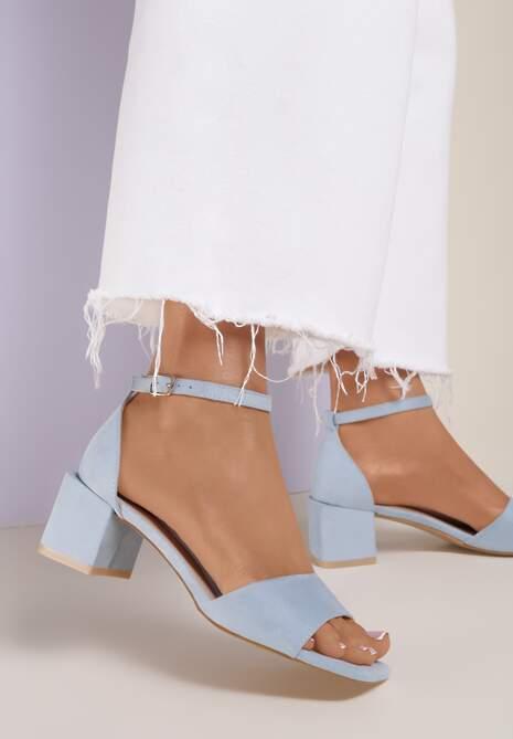 Niebieskie Sandały Adrasura