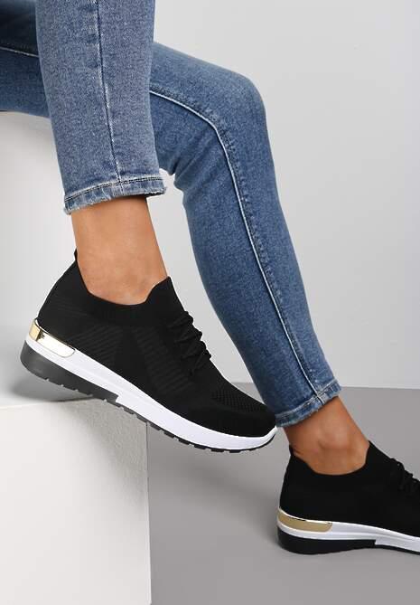 Czarne Buty Sportowe Aqeadenah