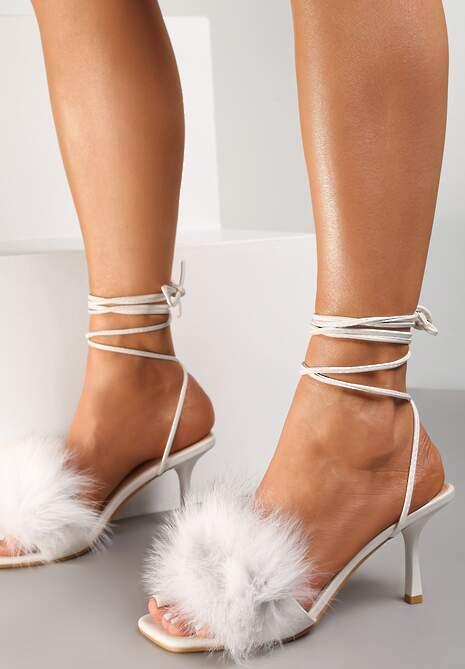 Białe Sandały Physose