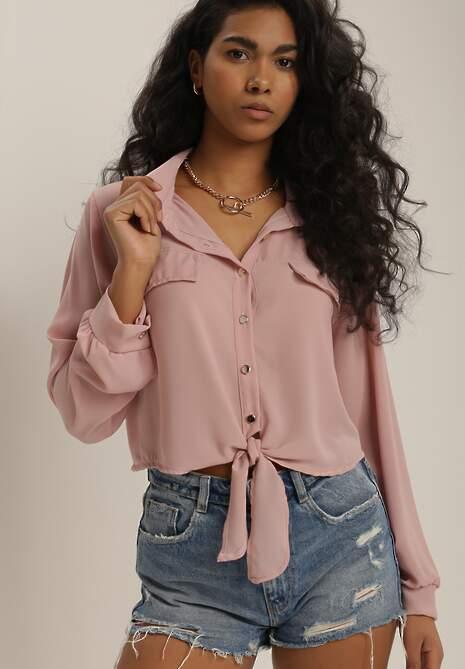 Różowa Koszula Murieshell