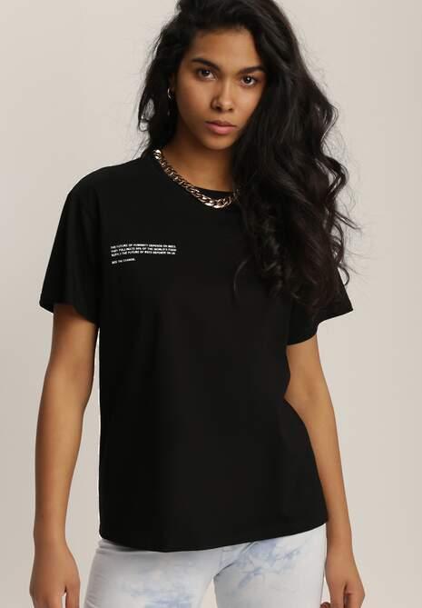 Czarny T-shirt Mepheusa