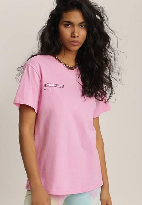 Różowy T-shirt Mepheusa