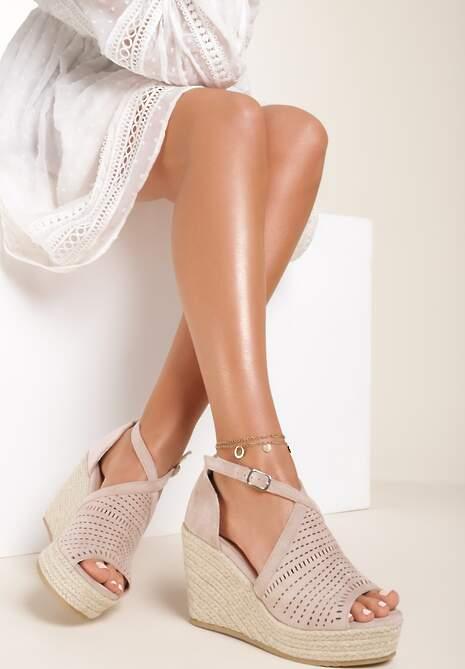 Beżowe Sandały Selorise