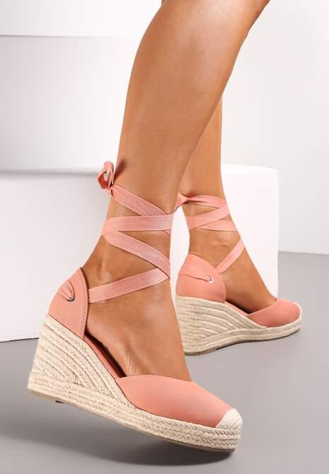 Różowe Sandały Acalea