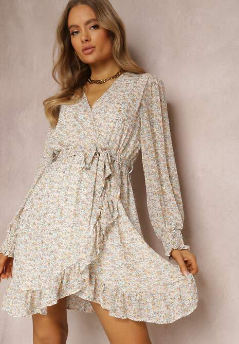 Biała Sukienka Messanea