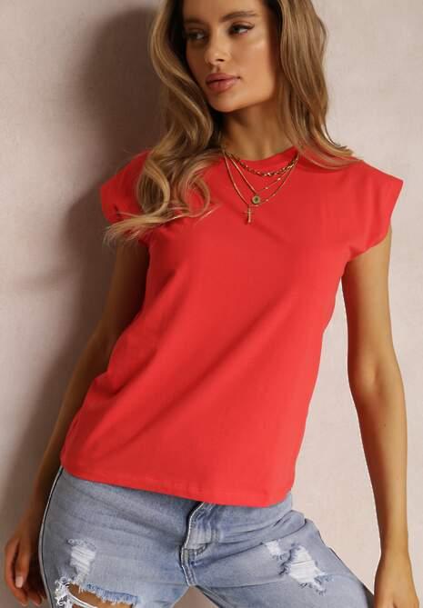 Czerwony T-shirt Prixelis