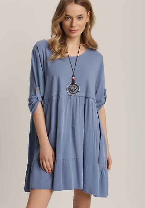 Niebieska Sukienka Athileusa