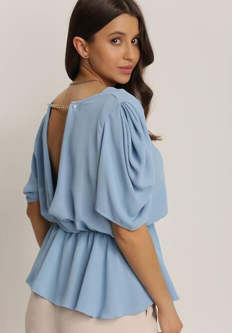 Niebieska Bluzka Meniphea
