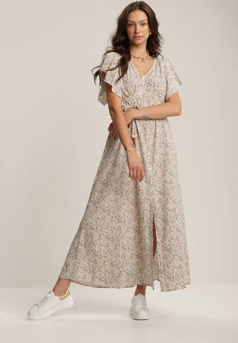 Biała Sukienka Salotai