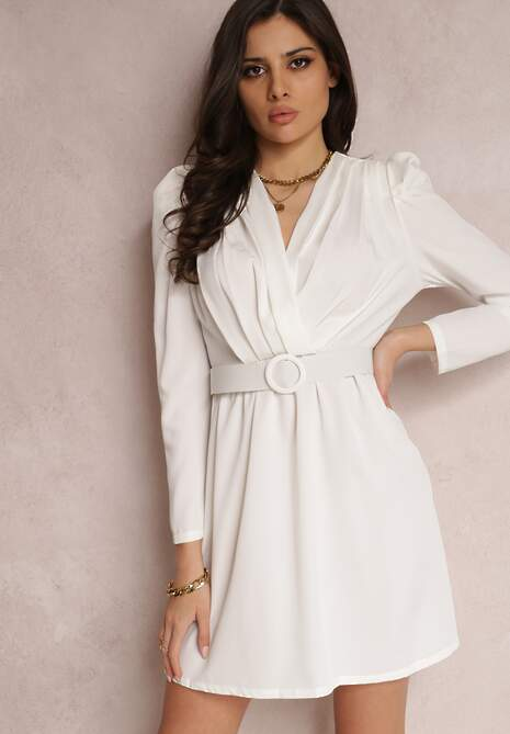 Biała Sukienka Salalodia