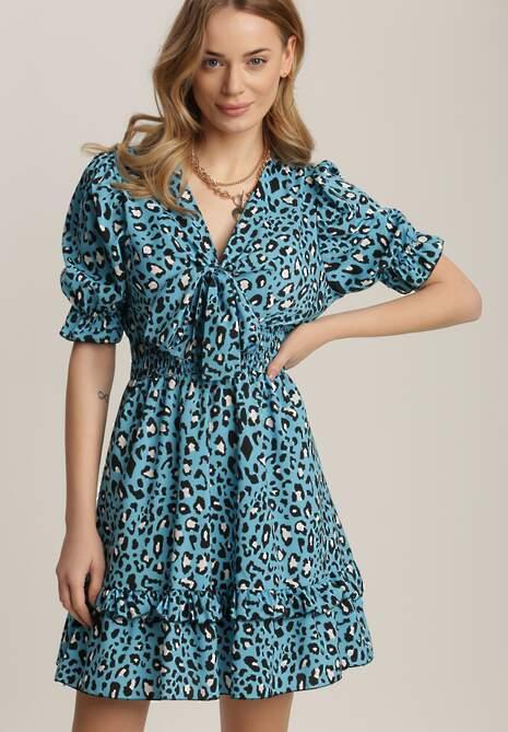 Niebieska Sukienka Nymoth