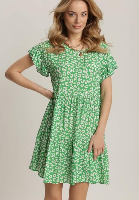 Zielona Sukienka Wysevera