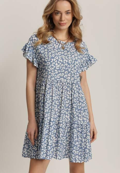 Niebieska Sukienka Wysevera