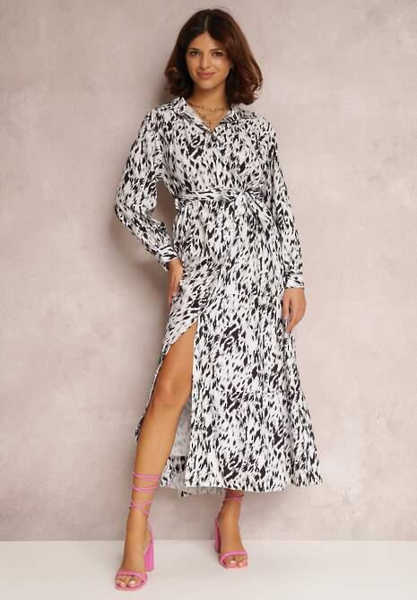 Biała Sukienka Penlyss
