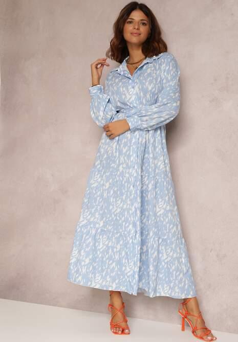 Jasnoniebieska Sukienka Penlyss