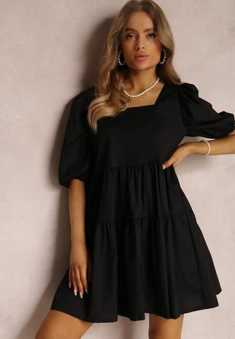 Czarna Sukienka Taliciane