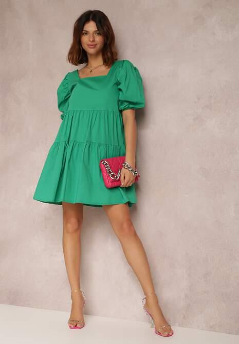 Zielona Sukienka Taliciane