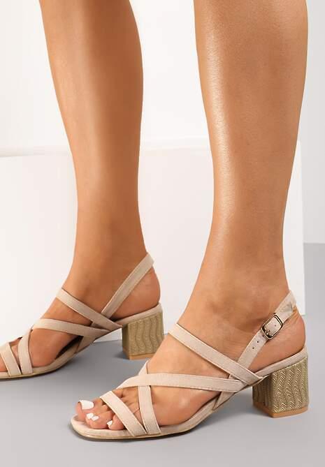 Beżowe Sandały Penlisa