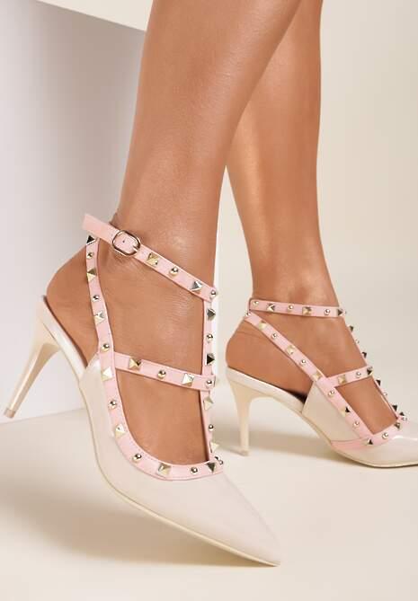 Beżowe Sandały Shyaela