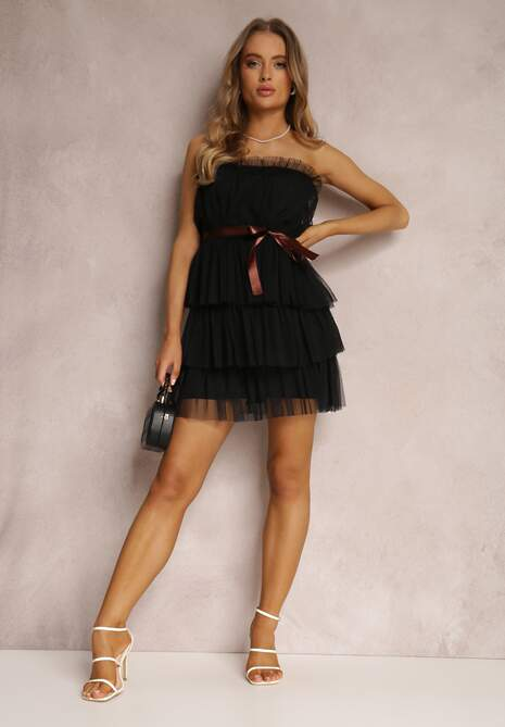 Czarna Sukienka Lidanea