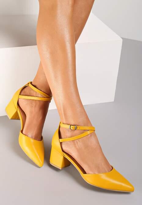Żółte Czółenka Calitai