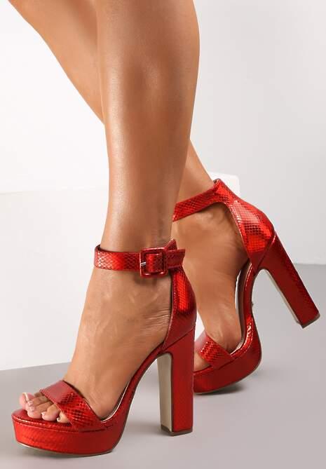 Czerwone Sandały Marille