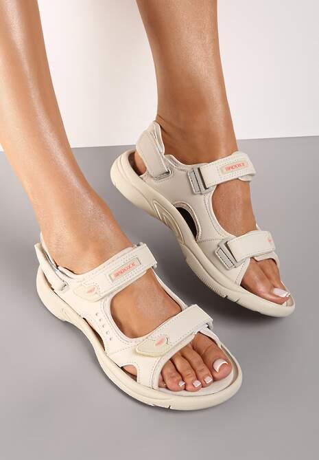 Beżowe Sandały Thegale