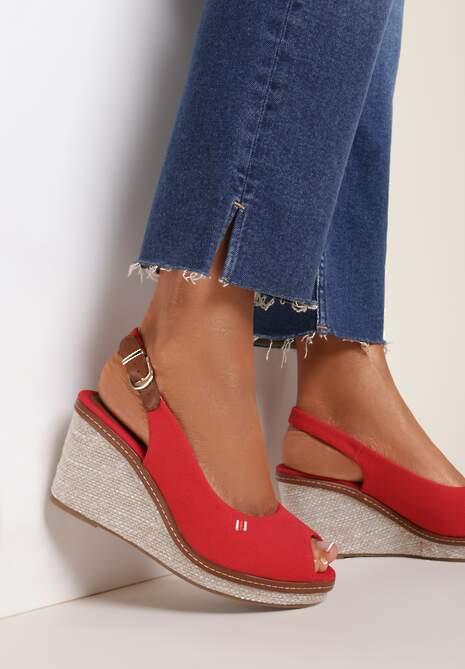 Czerwone Sandały Morgarith