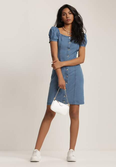 Niebieska Sukienka Criapea
