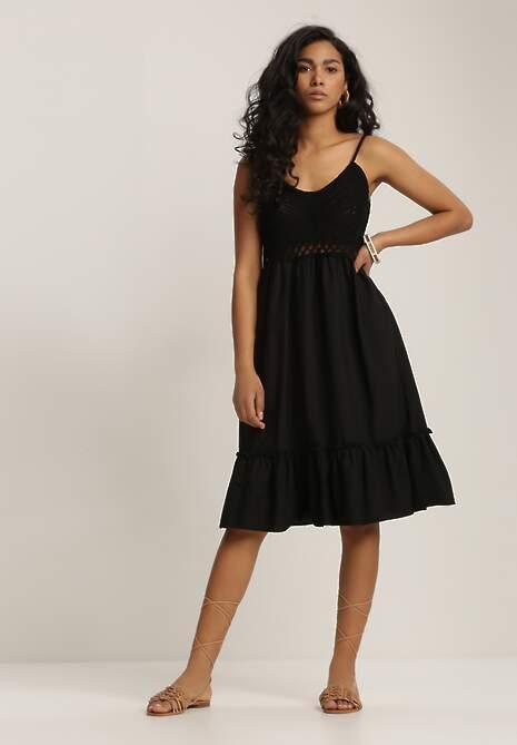 Czarna Sukienka Ariereida