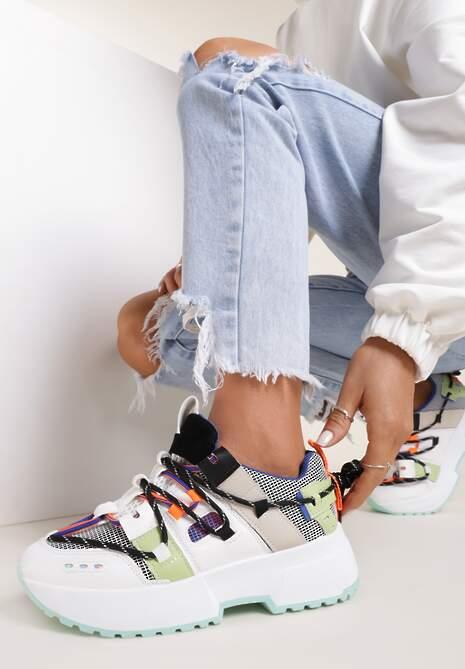 Niebieskie Sneakersy Nonakris
