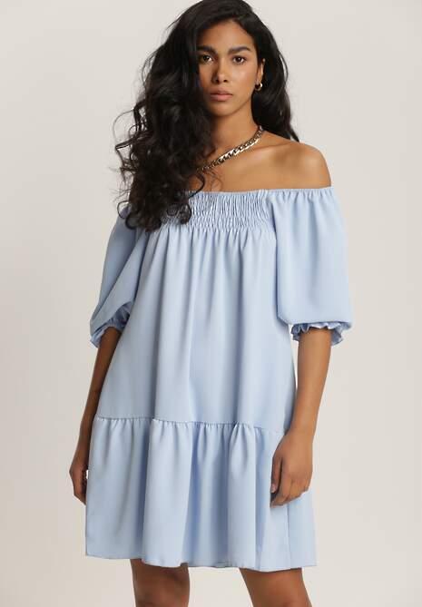 Niebieska Sukienka Lorailina