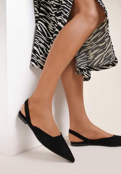 Czarne Sandały Bathais