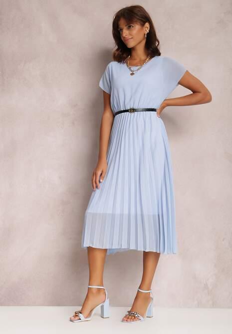 Niebieska Sukienka Myslodia