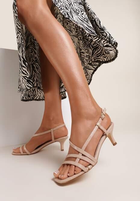 Różowe Sandały Malisis