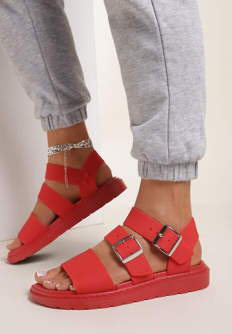 Czerwone Sandały Calocea