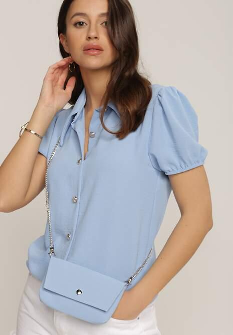 Niebieska Koszula Peshohsa