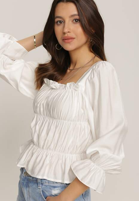 Biała Bluzka Olithelia