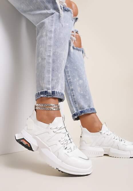 Białe Buty Sportowe Kiseis