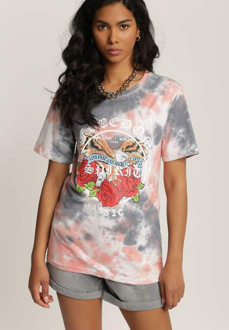 Szary T-shirt Taphophai