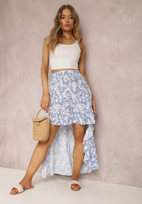 Biało-Niebieska Spódnica Hysassa