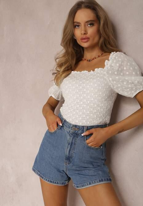 Biała Bluzka Theisusi