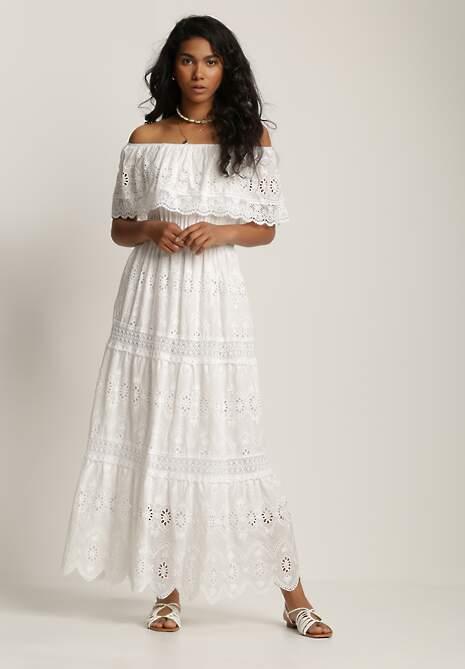 Biała Sukienka Salaphassea